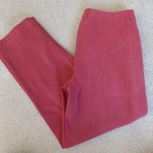 Talbots Sz 8 Petite Red Pants